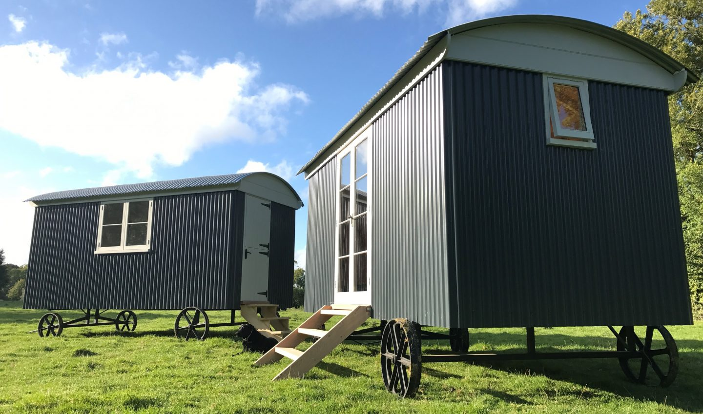 Hampshire Down Shepherd Huts