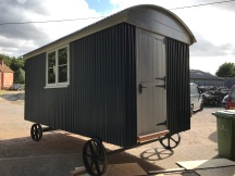 Shepherd hut - Side View