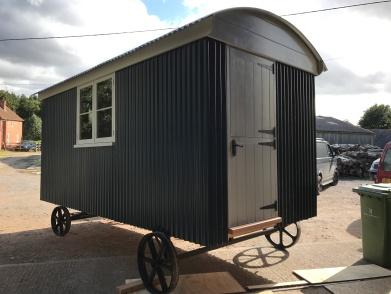 Shepherd hut - Side View