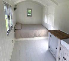 Shepherd hut - Inside