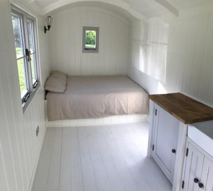 Shepherd hut - Inside