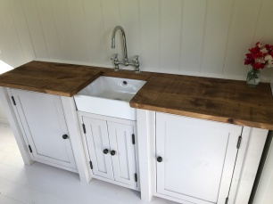 Shepherd hut - Sink