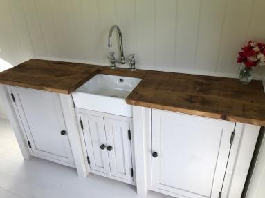 Shepherd hut - Sink