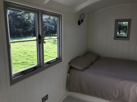 Shepherd hut - window